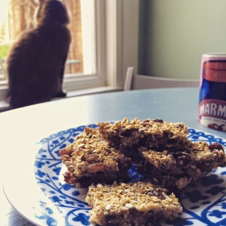 Clean healthy flapjacks