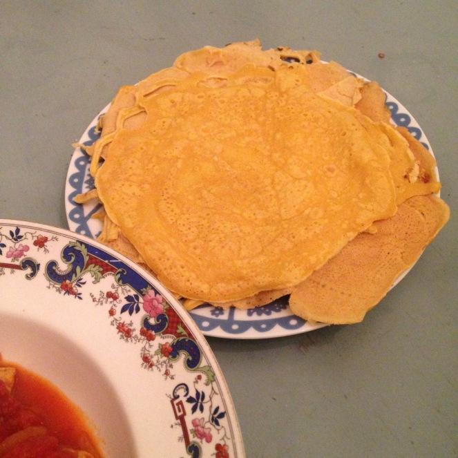 Turmeric Pancake