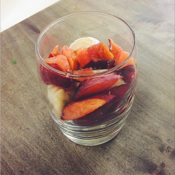 Fruit snack bowl