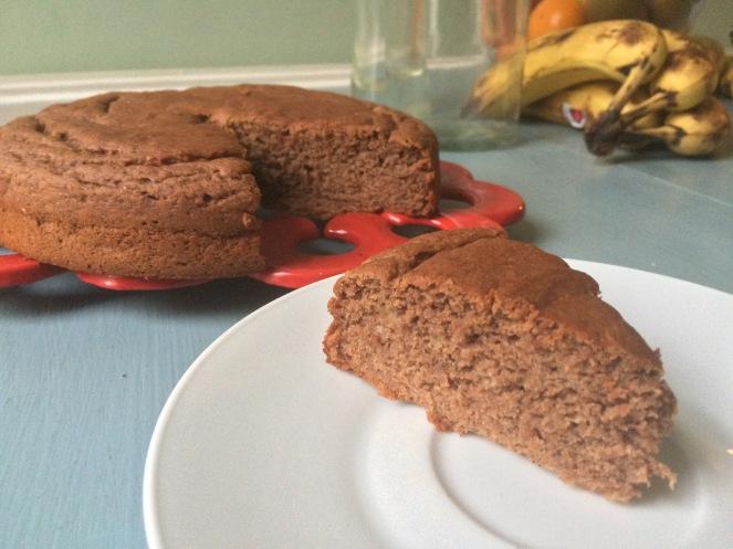 Choco banana cake