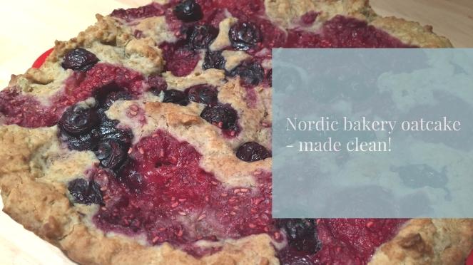 Nordic Bakery oatcake