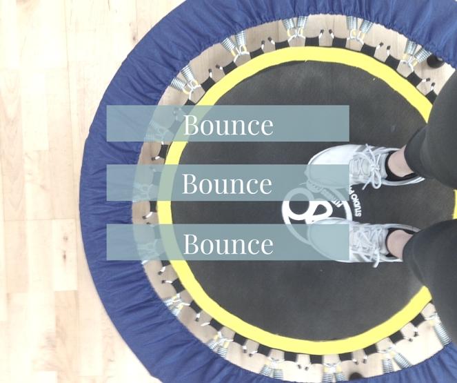 Rebounding exercise class