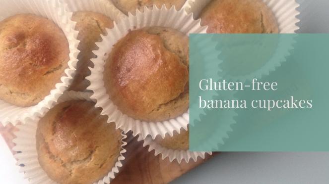 Gluten-free banana cupcakes